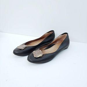 Beautifeel Leather Ballet Round Toe Flats 8.5